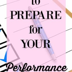 How to Prepare for Your Performance Review