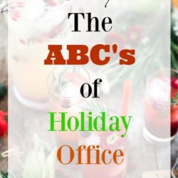 The ABC's of Holiday Office Party Etiquette