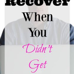 How to Recover When You Didn't Get the Job